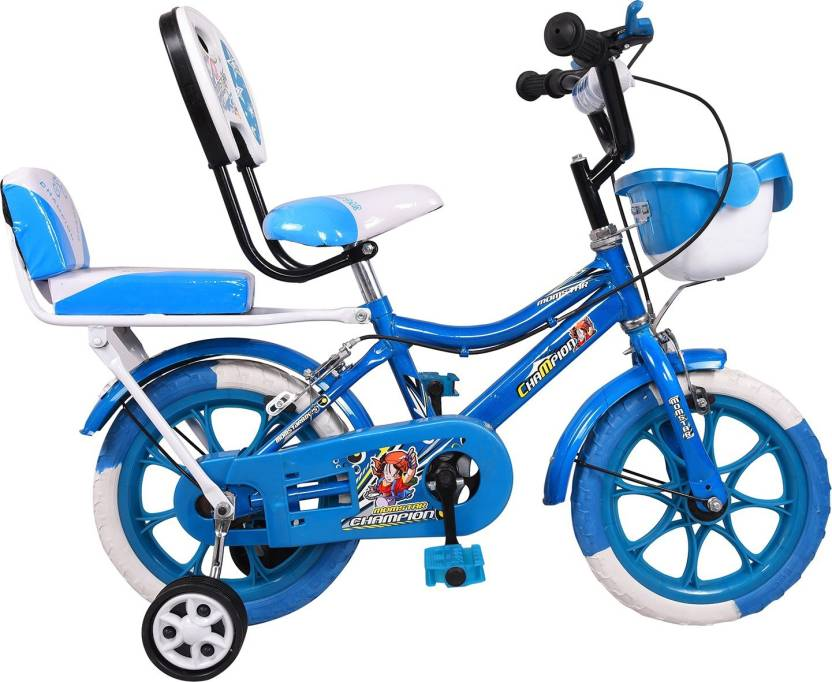 8f8af8f09a3 Mustang® Momstar Champion Bike For Kids Of Age 2-5 Yrs Blue 14 T Recreation  Cycle (Single Speed