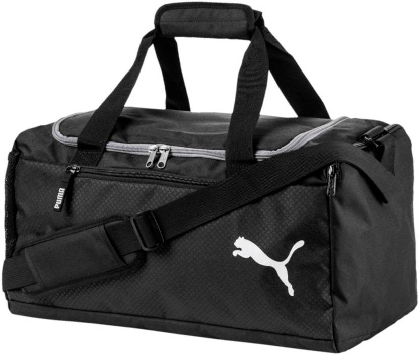 Puma Fundamentals Sports Travel Duffel Bag Black - Price in India ... ddf4060e41764