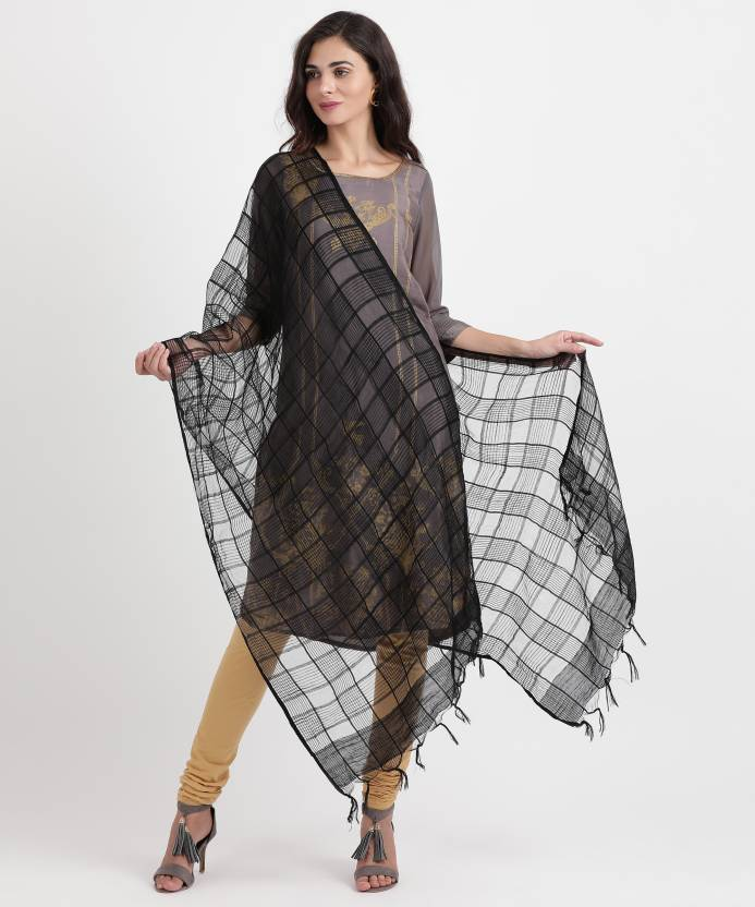 e5d715dbcf Aurelia Viscose Self Design Women Dupatta - Buy BLACK Aurelia Viscose Self  Design Women Dupatta Online at Best Prices in India | Flipkart.com