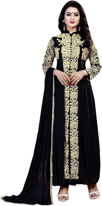 115d95699 RTHub Georgette Embroidered Semi-stitched Salwar Suit Dupatta Material  Price in India - Buy RTHub Georgette Embroidered Semi-stitched Salwar Suit  Dupatta ...