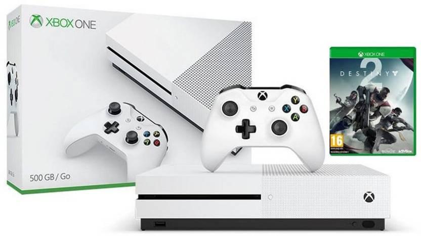 Microsoft Xbox One S 500 GB with Destiny 2 Price in India - Buy