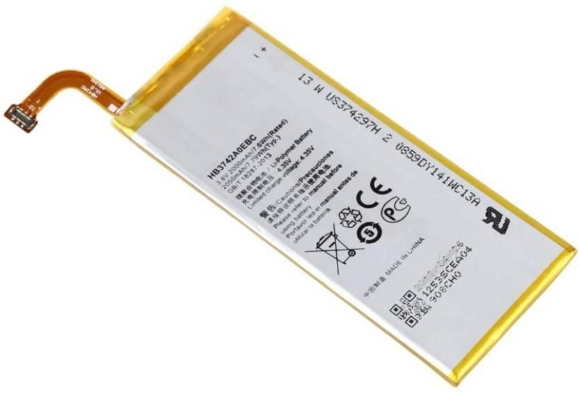 Fliptron Mobile Battery For Huawei Ascend P6-U06 - 2000mAh