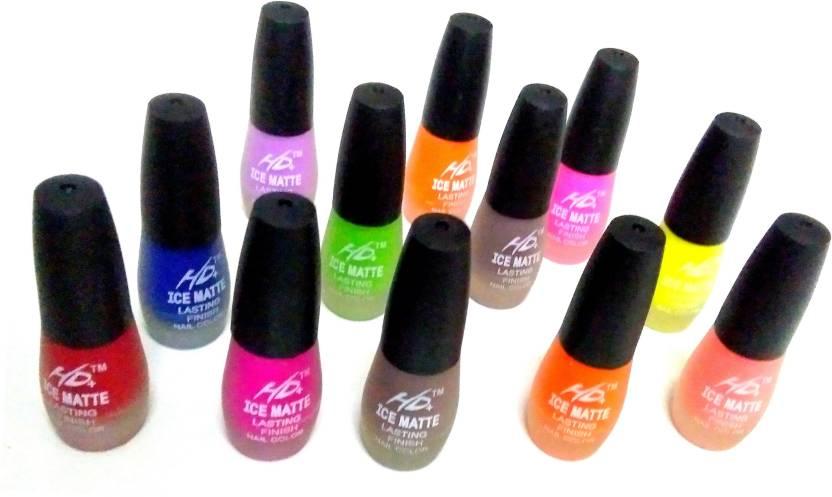 Natural premium HD ice matte mat satin finish nail polish nail paint ...