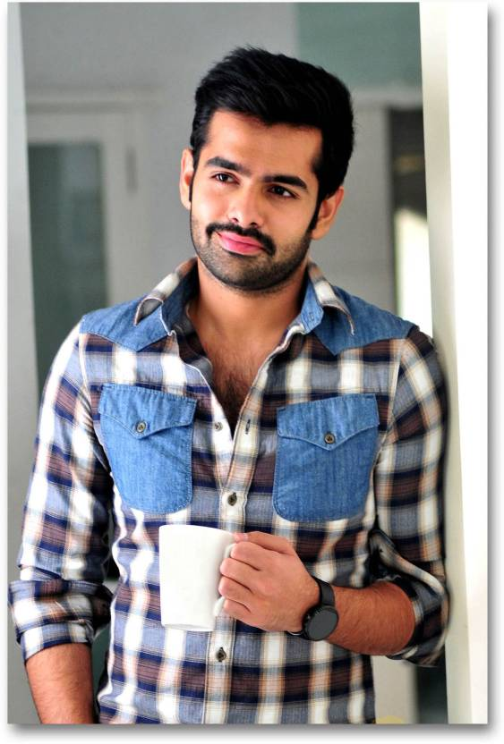 South Indian Actors Poster Ram Pothineni Nenu Sailaja Movie
