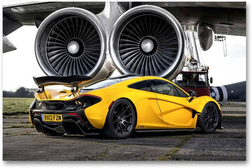 Car Wall Poster Mclaren Mercedes Super Car Hd Quality Wall