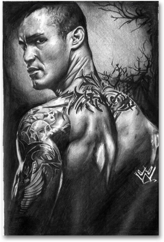 Wall Poster Randy Orton Wwe Posters Fan Art Hd Quality