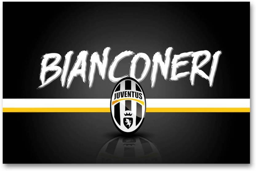 Juventus Football Club Wall Poster Bianconeri Logo Hd
