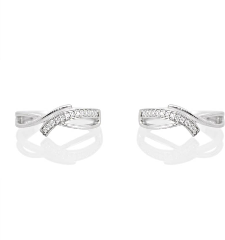 Jewelry & Watches Set Of 3 Toe Rings Adjustable New 925 Sterling Silver Plated Body Jewelry Lot Toe Rings
