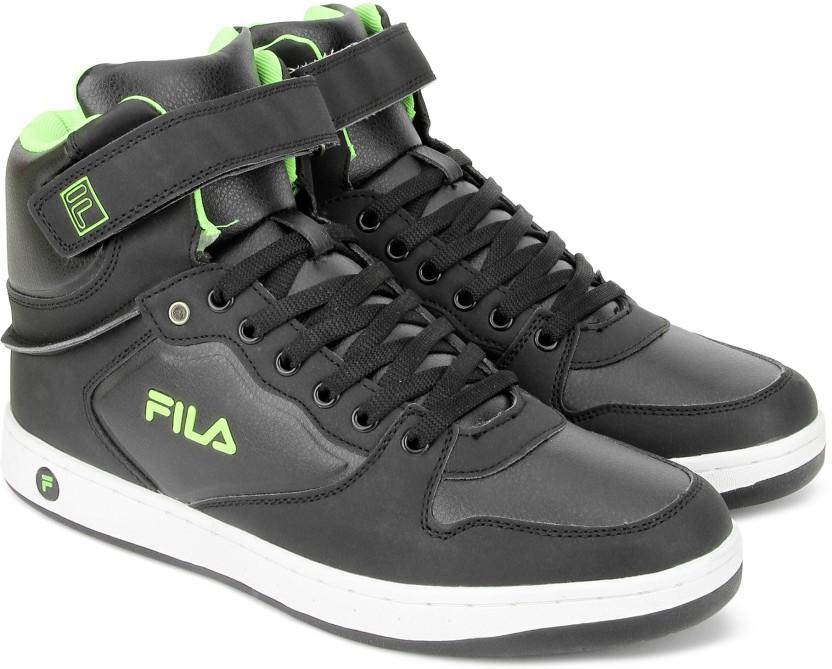 Fila Mid Ankle Sneakers For Men (Black