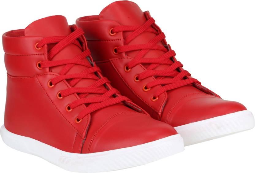 3138d33da7b5 Kraasa Passion Sneakers For Men - Buy Red Color Kraasa Passion ...