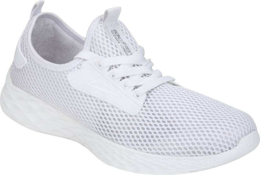 90164c454 Bond Street By Red Tape Athleisure Range Sports Walking Shoes For Men  (White)