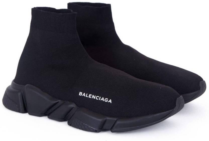 726da73a564a3 Balenciaga Speed Trainer Triple Black Sneakers For Men - Buy ...