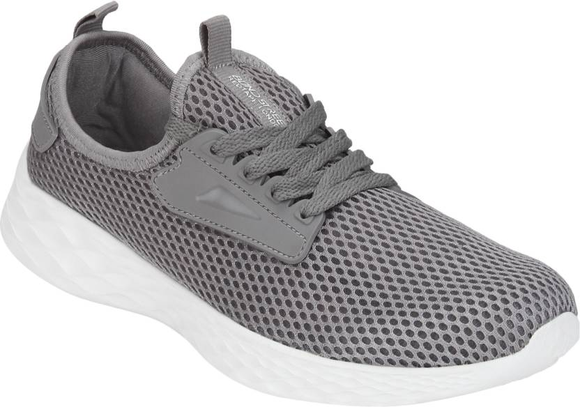 c613503aa Bond Street By Red Tape Athleisure Range Sports Running Shoes For Men (Grey)