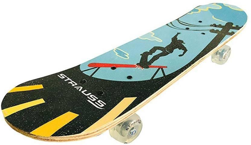 5d429739c4 Strauss Bronx KD Skateboard for Kids 15 inch x 8 inch Skateboard