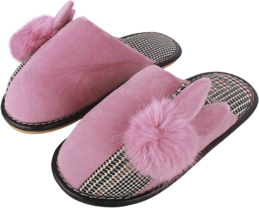 69f6513a9 IRSOE Women's Winter House Slippers Cartoon Rabbit House Shoes Soft Sole  Comfy Home Slippers Pink Slippers - Buy IRSOE Women's Winter House Slippers  Cartoon ...