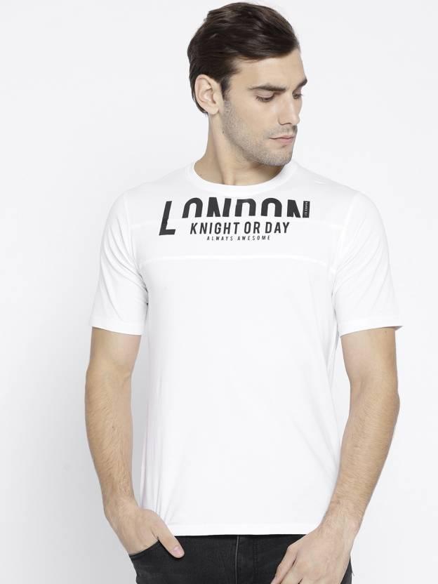 3911baad Lee Cooper Printed Men Round Neck White T-Shirt - Buy Lee Cooper ...