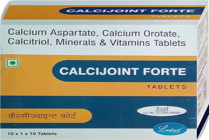 Calcijoint Forte High Absorbtion Calcium Calcitrol Vitamin B12