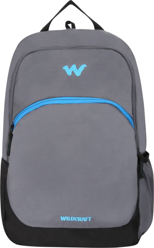 cfdc8455b9 Wildcraft Zeal 17.2159 L Backpack Grey - Price in India