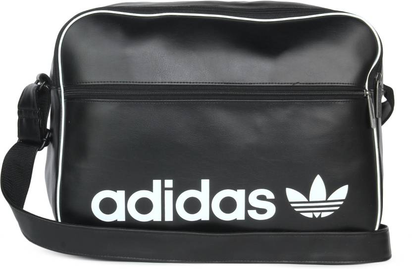 d33f237cb515 ADIDAS AIRLINER VINT 20 L Laptop Backpack BLACK - Price in India ...