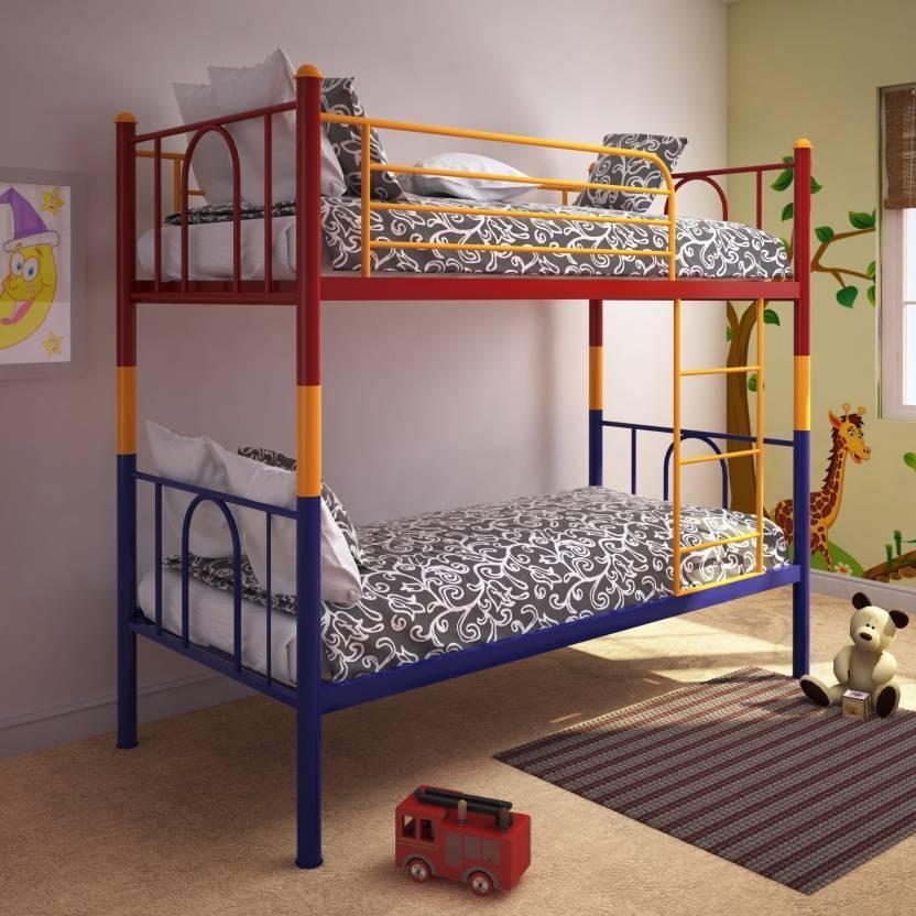 Furniturekraft Valencia Metal Bunk Bed Price In India Buy