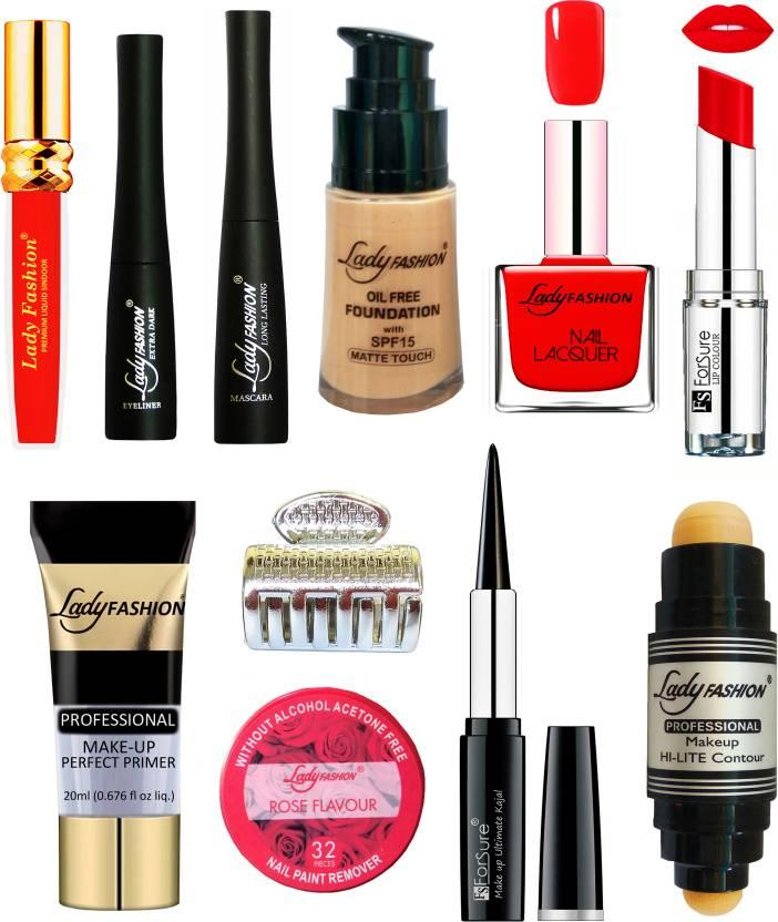 Lady Fashion Bridal Makeup Kit 0410202032 (Set of 11)