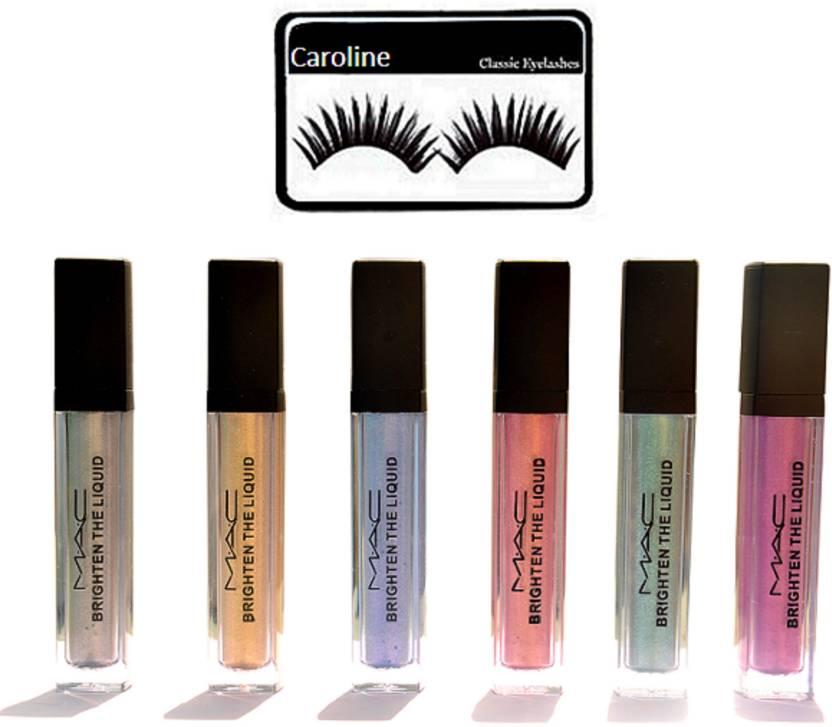 Caroline Eyelashes Brighten The Liquid Pigment Pack Of 6 Price In