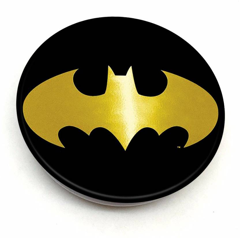 b73ad0176230 DollarTree BLK   GOLD BATMAN LOGO Mobile Holder Price in India - Buy  DollarTree BLK   GOLD BATMAN LOGO Mobile Holder online at Flipkart.com