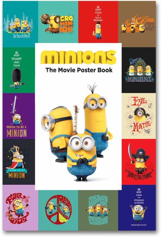 Minions Movie Giant Wall Art poster Split Print