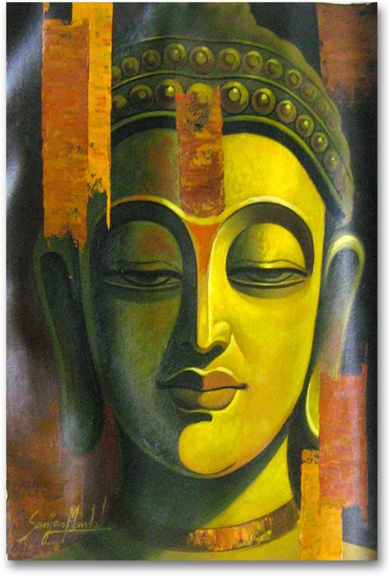 wall poster in the mind of buddha hd quality religious poster