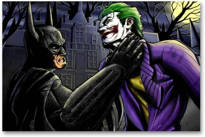 Wall Poster Batman Joker Hd Quality Batman Wall