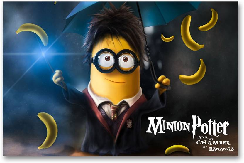 Wall Posters Minion Potter Hd Quality Minions Posters Paper