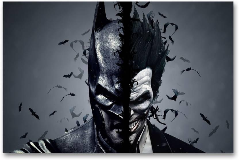 Wall Poster Batman Joker Hd Quality Batman Poster Paper Print