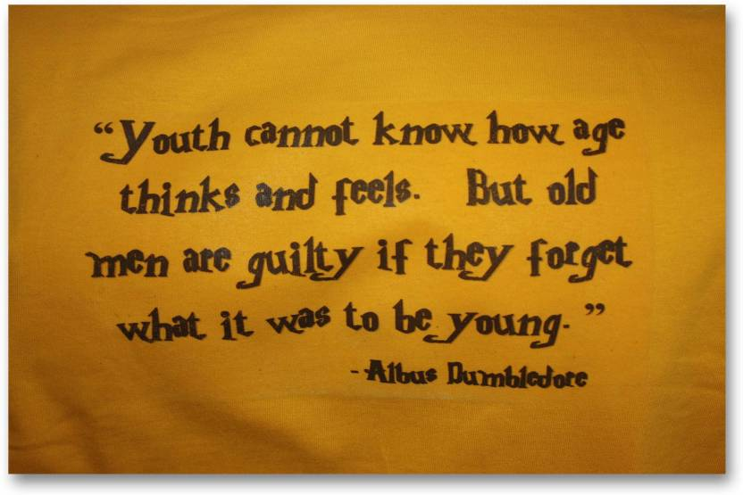 Wall Poster Quote Of Albus Dumbledore Harry Potter Hd Quality