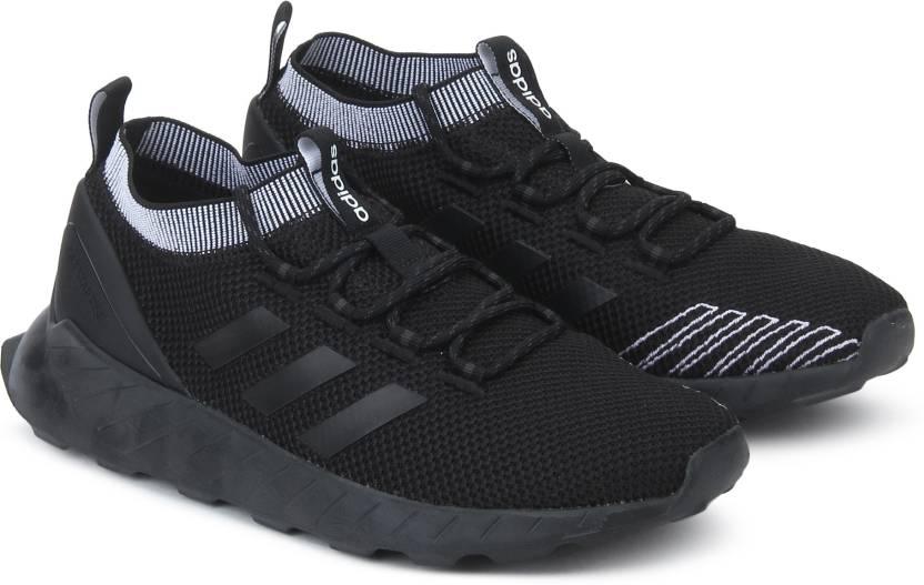 brand new 13572 e22e5 ADIDAS QUESTAR RISE Running Shoes For Men (Black)