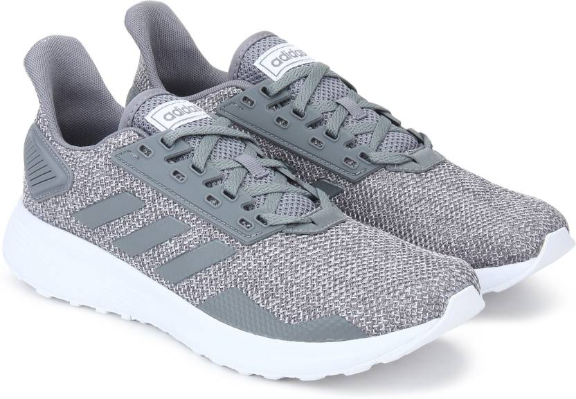 premium selection 69b8b 70c07 ADIDAS DURAMO 9 Running Shoes For Men (Grey)