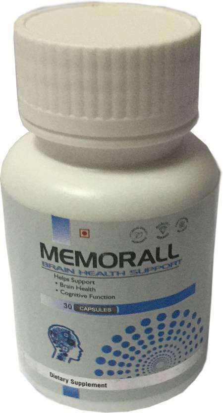 Friska Memorall Brain Support Dietary Supplement Healthy Brain