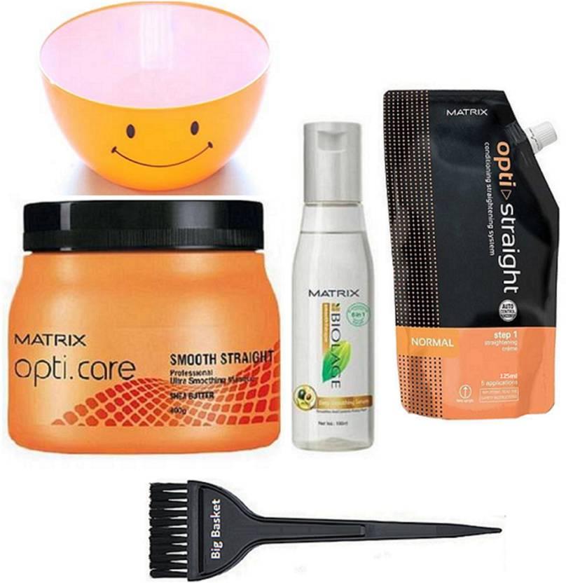 Big Basket Hair Brush Matrix Opticare Spa Straight Hair