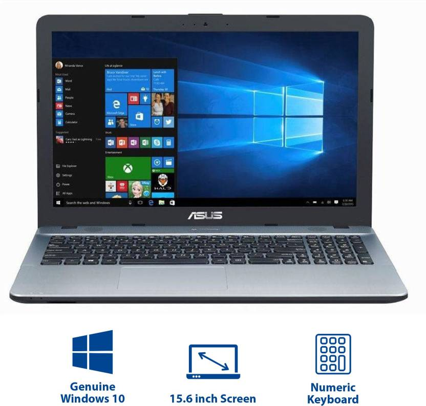 Asus X Series Pentium Quad Core 7th Gen - (4 GB/1 TB HDD/Windows 10 Home) X541NA-GO125T Laptop