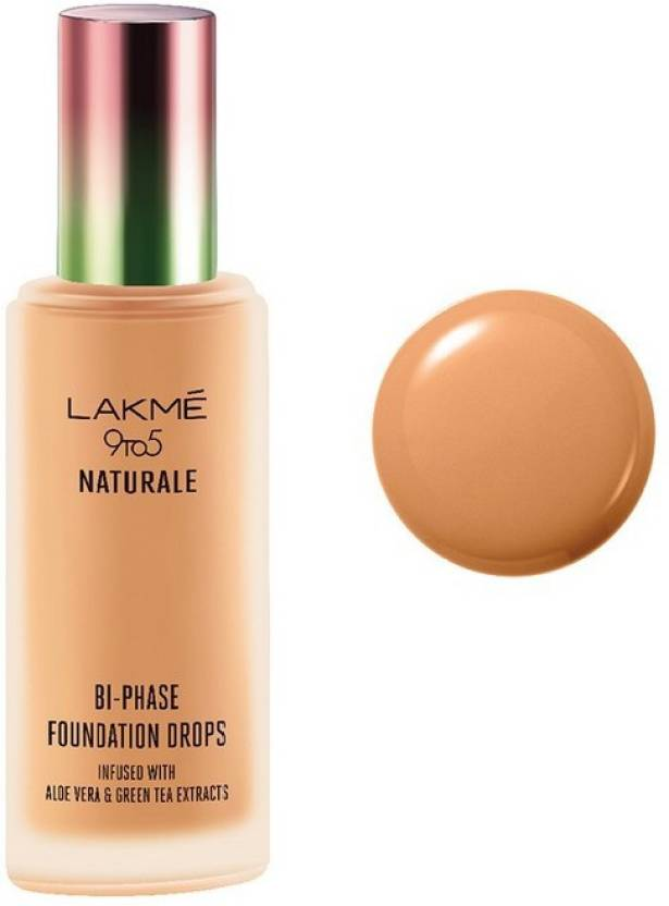 Lakme 9 to 5 Naturale Foundation Drops Foundation