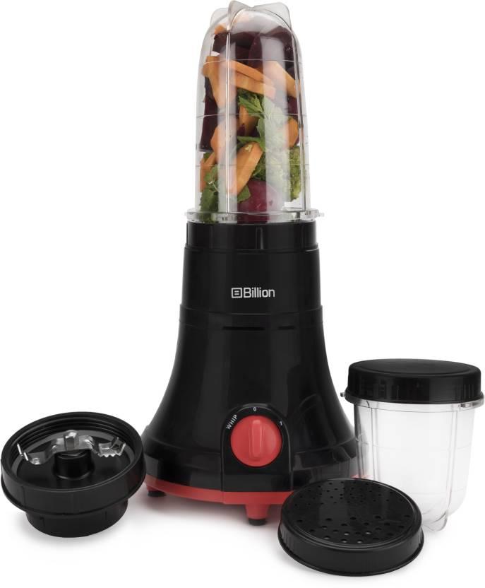 Billion Nutriblend MG170 400 W Juicer Mixer Grinder (Black, 2 Jars)