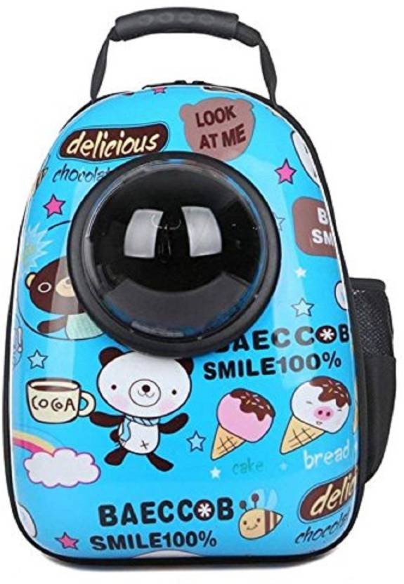 33fe231edf SRI Astronaut Pet Cat Dog Puppy Carrier Travel Bag Space Capsule Backpack  Breathable Multicolor Backpack Pet Carrier (Suitable For Dog, Cat)