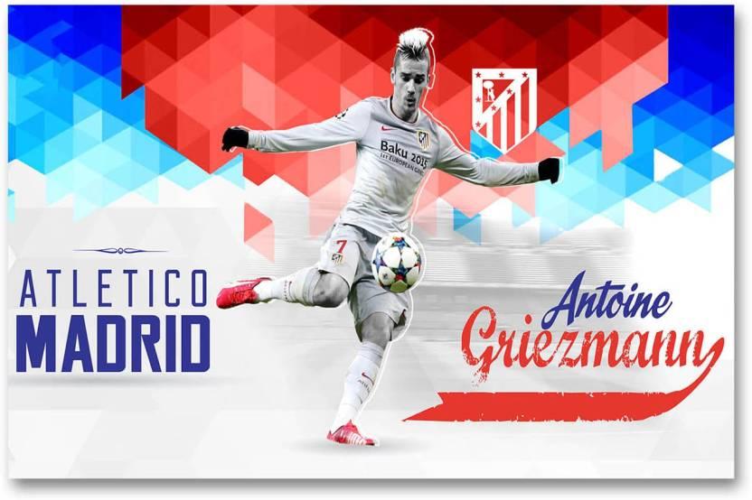 Atletico Madrid Football Club Wall Poster Antoine