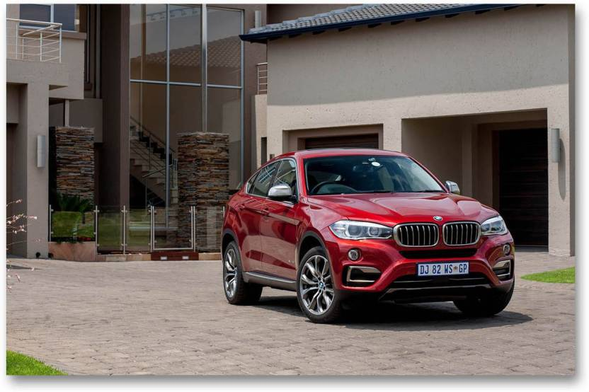 Cars Wall Poster Bmw X6 Sports Car Hd Quality Wall Poster