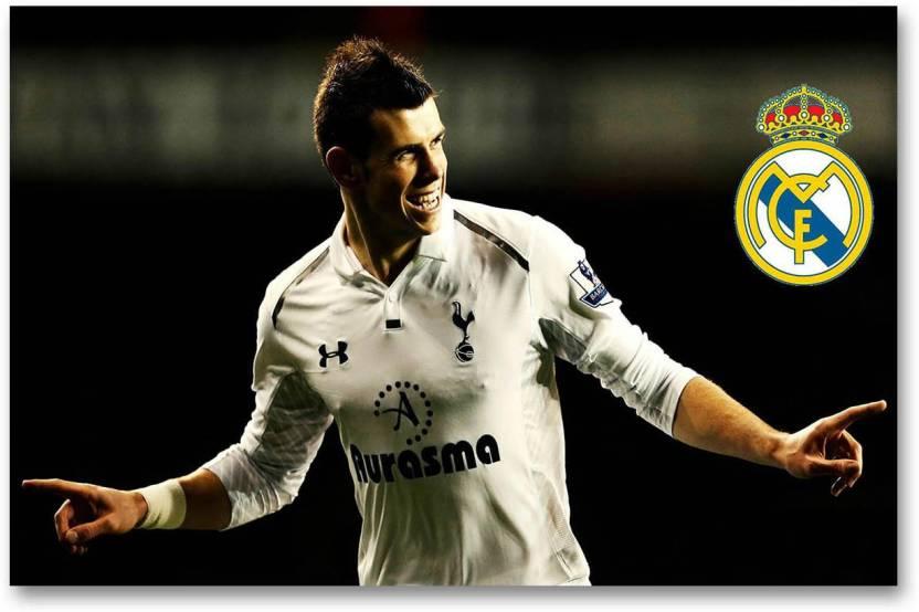 super popular 2e29e 8978e Real Madrid C.F. Wall Poster - Gareth Bale - HD Quality ...
