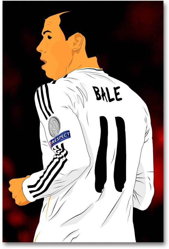 GARETH BALE REAL MADRID GIANT WALL ART PICTURE PHOTO PRINT POSTER