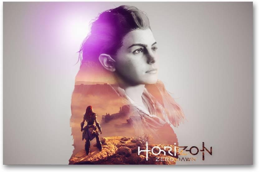 Wall Poster Horizon Zero Dawn Hd Game Poster Paper Print