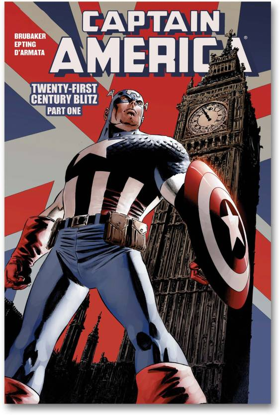 Wall Poster - Captain America - HD Comic Poster Paper Print (18 inch X 12 inch, Rolled)