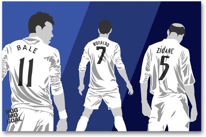 hot sale online 6561b 0d1f3 Real Madrid C.F. Wall Poster - Gareth Bale & Cristiano ...