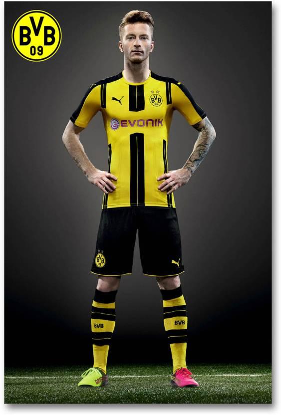 huge discount fa720 ce5df Borussia Dortmund Football Club Wall Poster - Marco Reus ...