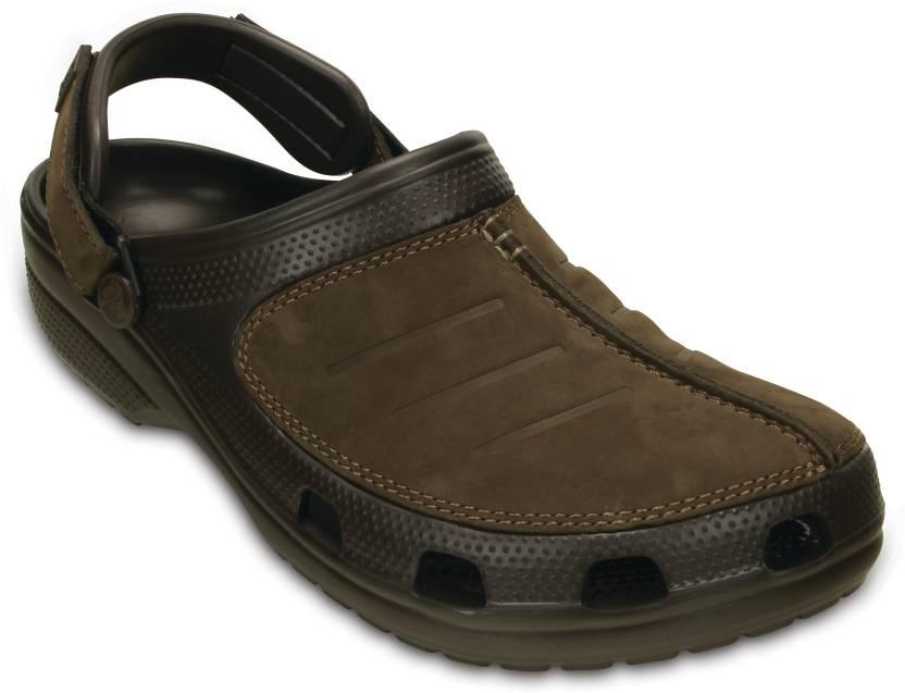 607da1933 Crocs Men Brown Sandals - Buy 203261-22Z Color Crocs Men Brown Sandals  Online at Best Price - Shop Online for Footwears in India